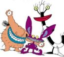 List of main characters in Aaahh!!! Real Monsters