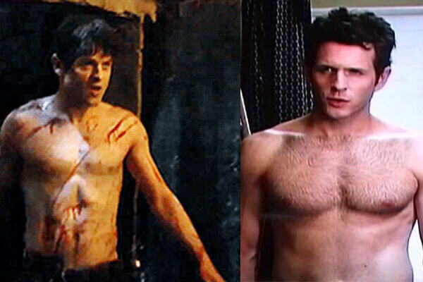 Dennis Reynolds and Ramsay Bolton show off their bodies