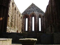Cathedral of St German Ruins - Peel Castle - Isle of Man - 25-APR-09