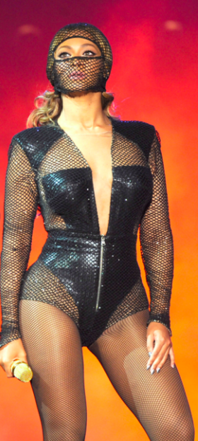 Beyonce in 2014 On The Run Tour