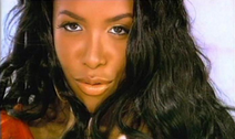 "Aaliyah in ""Rock the Boat"" video"