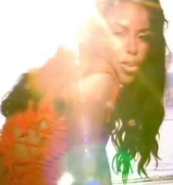 """Aaliyah in """"Rock the Boat"""" music video crop"""