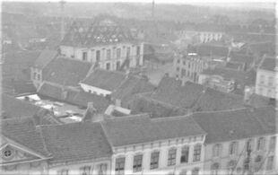 Afbraak schouwburg 1936
