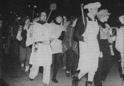 Fakkeltocht Driekoningenfeest 1981