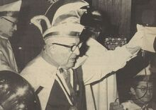 Gustaaf De Stobbeleir Driekoningenfeest 1974 De Voorpost 18011974