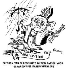 Cartoon Frans Wauters, Marcel De Bisschop