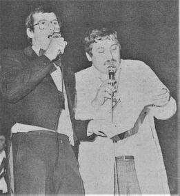 Michel en Antoine, De Aankondiger Karnaval 1984