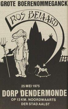 Affiche Frans Wauters