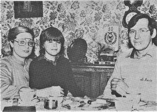 Michel met vrouw Christiane en zoon (Het Nieuwsblad, 30-01-1979)
