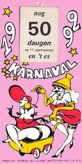 Aftelkalender 1992 De Pagadetten
