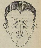 Herman Louis (tekening Frans Wauters)