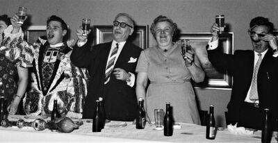 3koningenfeest 1960 madeinaals collectie louies j robert waterschoot burgemeester blanckaert schepen van hoorick