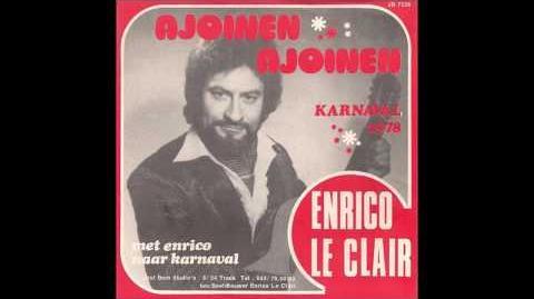 Aalst Carnaval - Enrico Le Clair- Ajoinen, Ajoinen