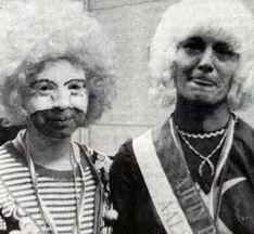 Ajuinprinses 1979 DVP02031979 Wiske rechts en verliezende kandidate links Diane D'Herdt