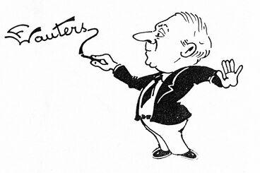 Frans Wauters tekening