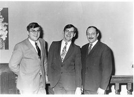 Kandidaten Michel, Johnny en Willy, site MuzikOilsjt