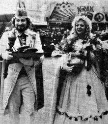 Prins Enrico en Bloemenfee Margot (c) De Voorpost Speciale Karnavaleditie
