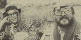 Yvan en Jean Paul Driekoingenfeest 1990
