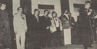 De kandidaten Driekoningenfeest 1978