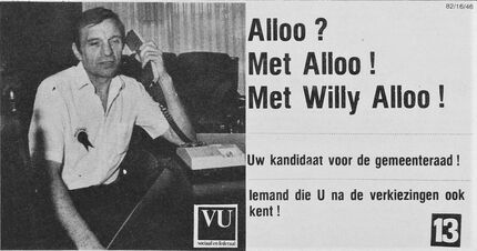 Willy Alloo advertentie 2