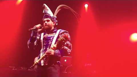 Prins Carnaval Bart De Meyst op de Pillampenfuif