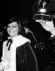 Ajuinprinses 1977 Ingrid Van De Winckel
