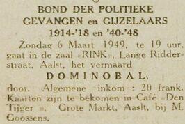 Dominobal 1949