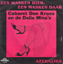 Platenhoes Cabaret Don Kroes en de Dolle Mina's