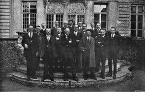 1926 - Feestcomité, uit programmaboekje Handelsfoor 1926