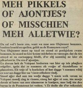 De Voorpost 30 januari 1976