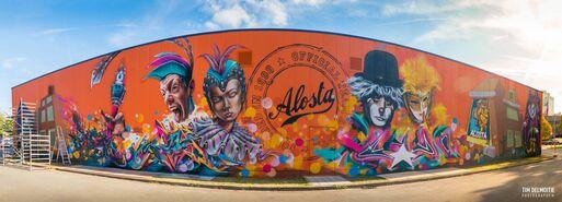 Graffiti werkhallen&&
