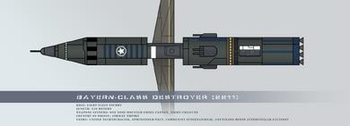 Bayern class destroyer by rvbomally-d5jcyym