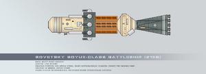 Sovetsky soyuz class battleship by rvbomally-d9tgyx3