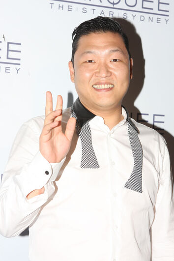 Psy Gangnam Style performs at Marquee, The Star, Sydney, Australia (1)