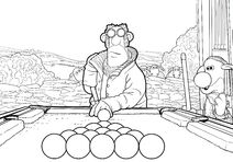 Pool Table Game Colouring