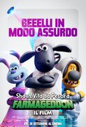 Farmageddon A Shaun the Sheep Movie Italian Poster