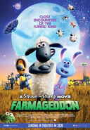 Farmageddon A Shaun the Sheep Movie Canadian English Poster