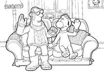 The Farmer & Bitzer On Living Room