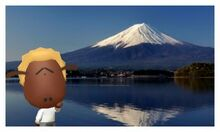 Shaun in Mt. Fuji