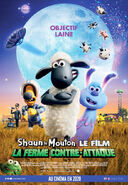 Farmageddon A Shaun the Sheep Movie Canadian French Poster