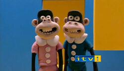 Itv ident monkeys