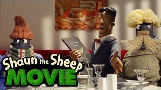 Shaun the Sheep The Movie - Restaurant (Movie Clip)