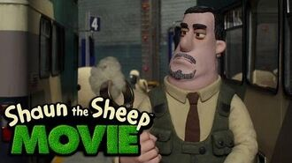 Shaun the Sheep The Movie - Hiding from Trumper (Movie Clip)