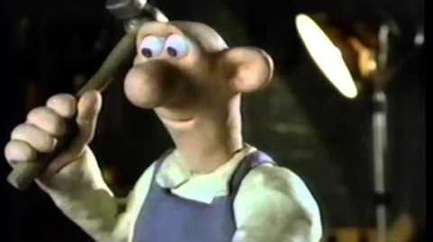 Wallace & Gromit - A Grand Day Out (1989) Trailer (VHS Capture)