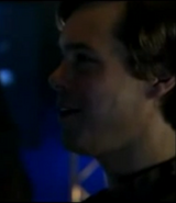 Elias talking with Aaron