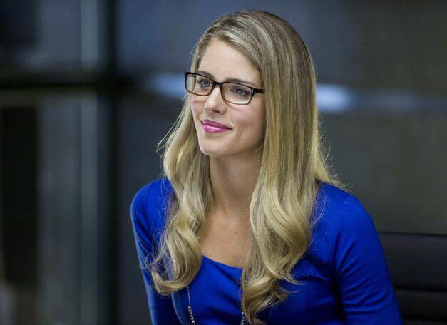 felicity smoak played by Emily Bett Rickards from Arrow