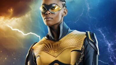 'Black Lightning' Just Introduced TV's First Black, Female, LGBT Superhero
