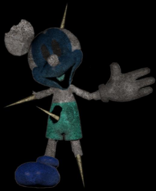Nightmare Photo Negative Mickey