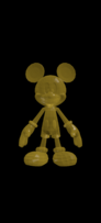 Gold Mickey