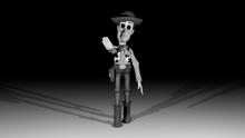 Greyscale Woody Promo